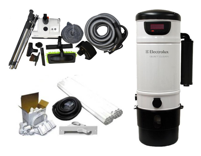 Electrolux PU3900 Platinum Builders Package w/ Deluxe Wessel-Werk Attachment Kits