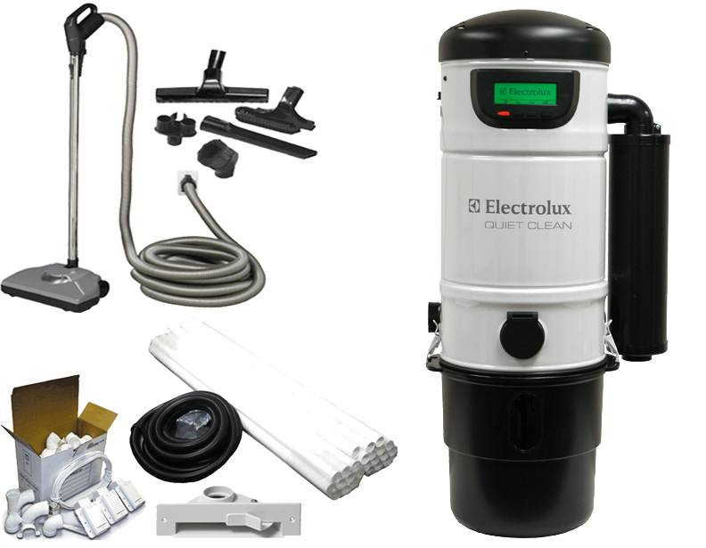 electrolux central vacuum builder 39 s packages. Black Bedroom Furniture Sets. Home Design Ideas