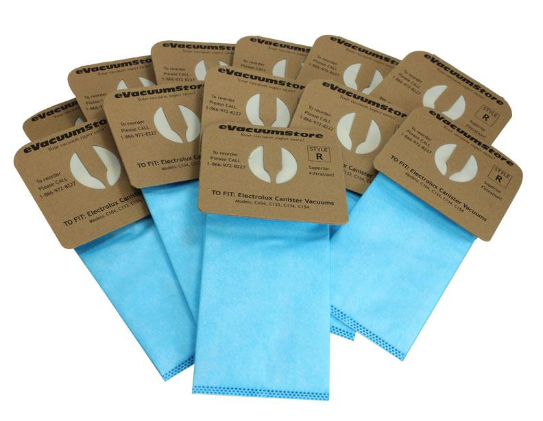 Electrolux Replacement Anti-Allergy Style R Vacuum Bags, 12-Pack