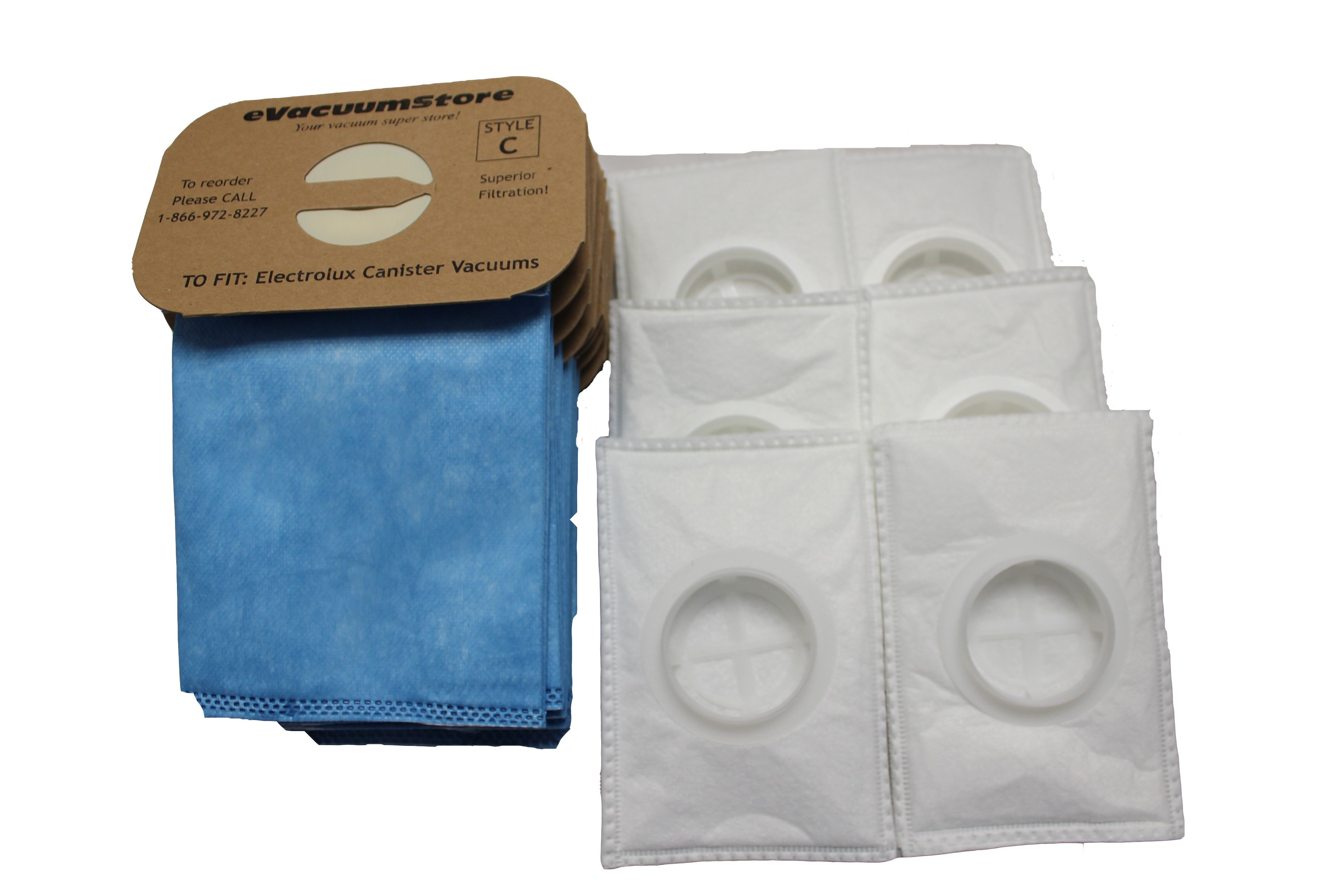 Electrolux Style Anti-Allergy Bags 24 Pack and 6 After Filters