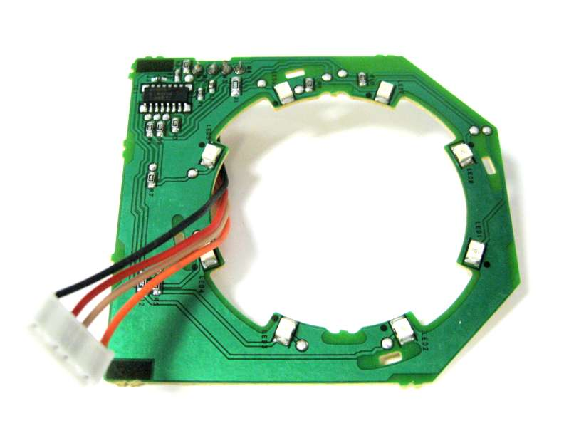 Sebo D4 PCB with lights