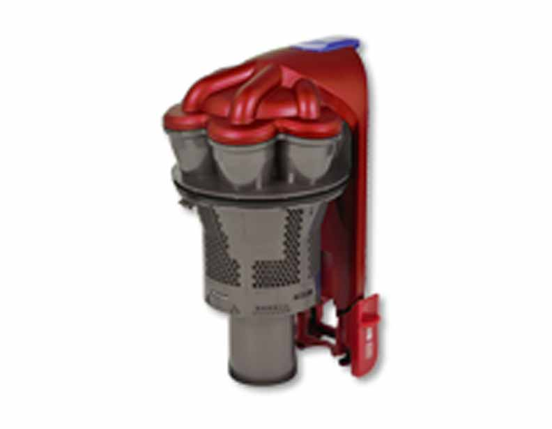 Dyson DC35 Iron/Satin Rich Red Cyclone Assembly