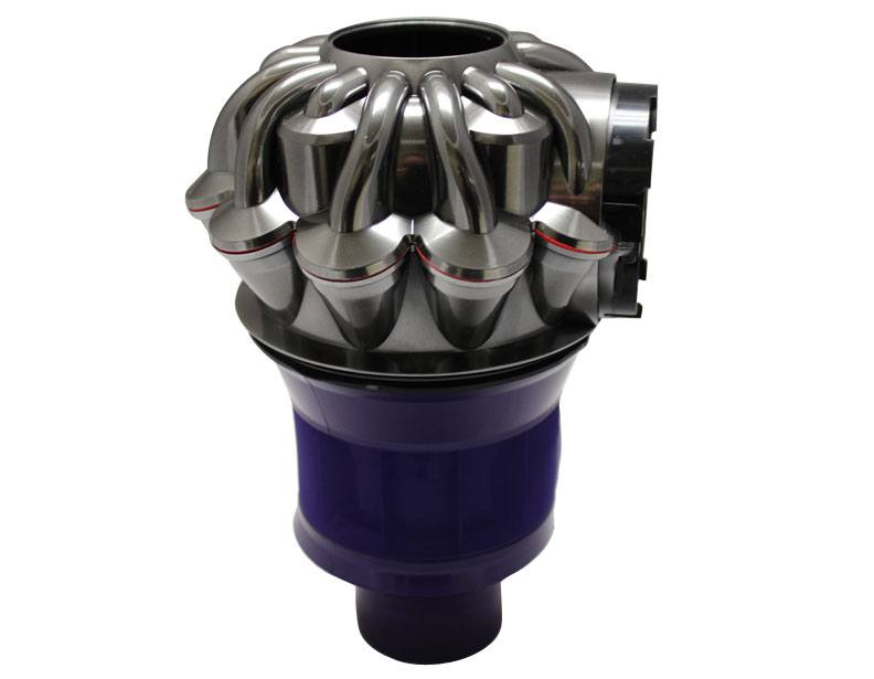 Dyson DC58 DC61 Nickel and Purple Cyclone Assembly 965878-01