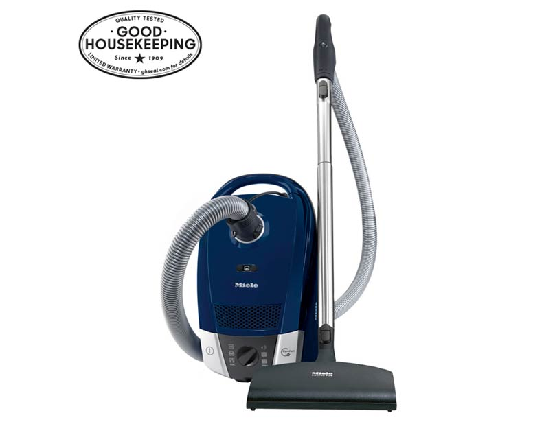 Miele Compact C2 Topaz Vacuum Cleaner With SEB217-3 Power Brush