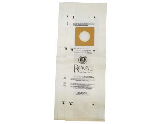 Royal Type B Genuine Vacuum Bags 3 Pack