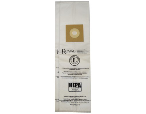 Royal Type L HEPA Vacuum Bags Genuine 2 Pack