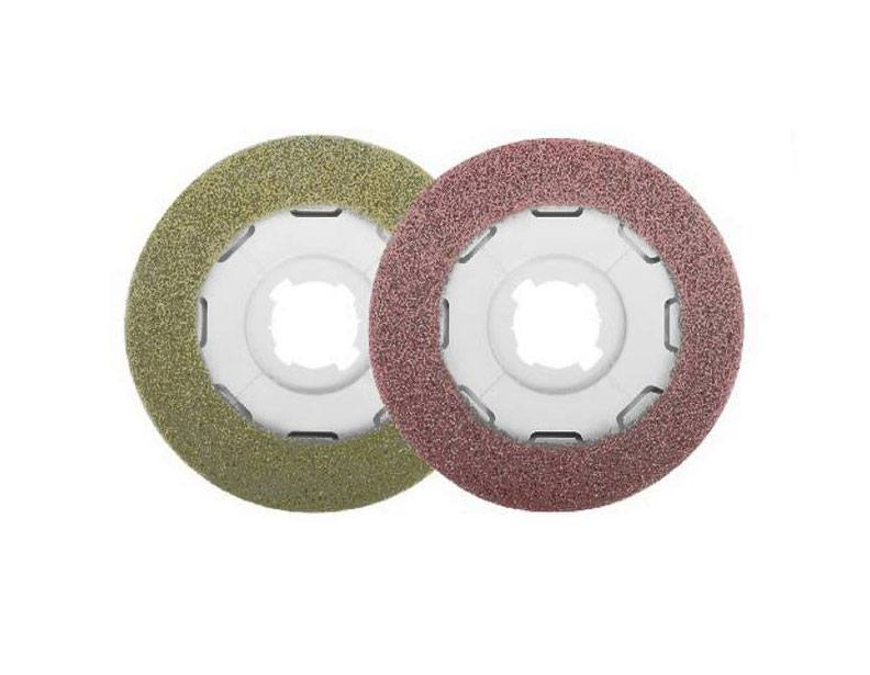 Sebo Disco Red and Yellow pads