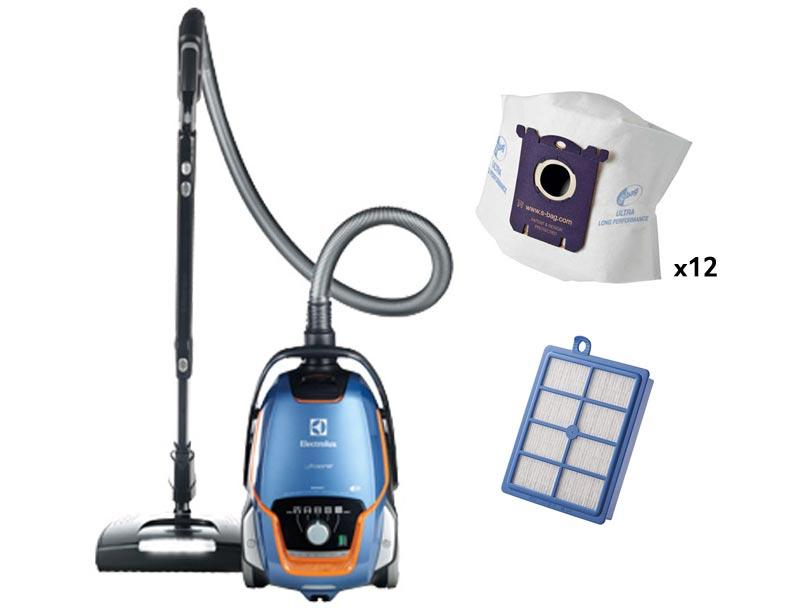 Electrolux EL7083ASG UltraOne Signet Canister Vacuum Deluxe Package