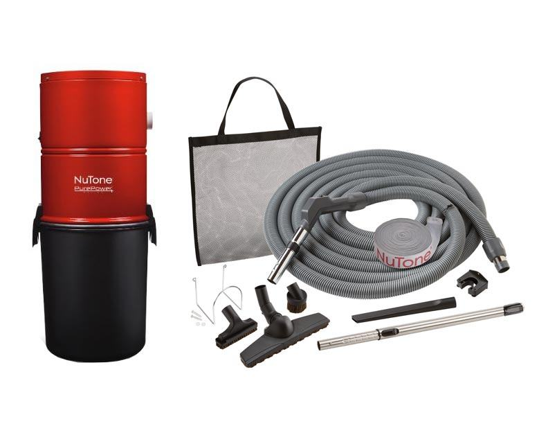 NuTone PP500 Central Vacuum Standard Package