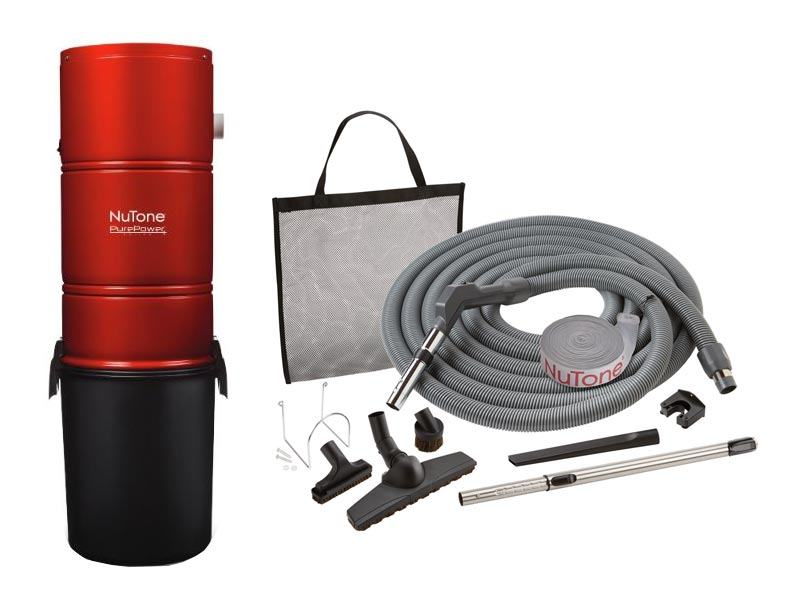 NuTone PP600 Central Vacuum Standard Package