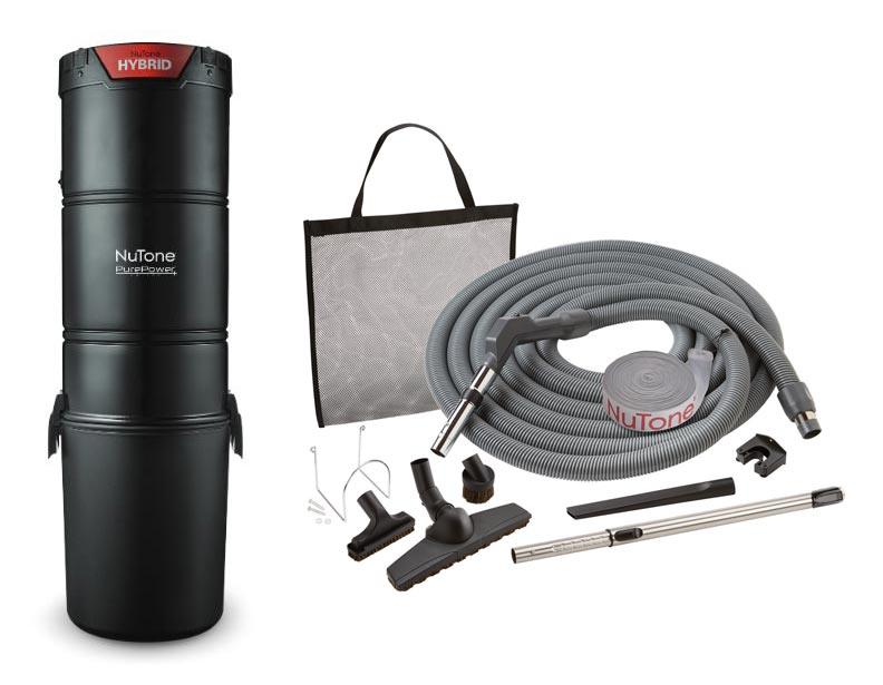 NuTone PP650 Central Vacuum Standard Package