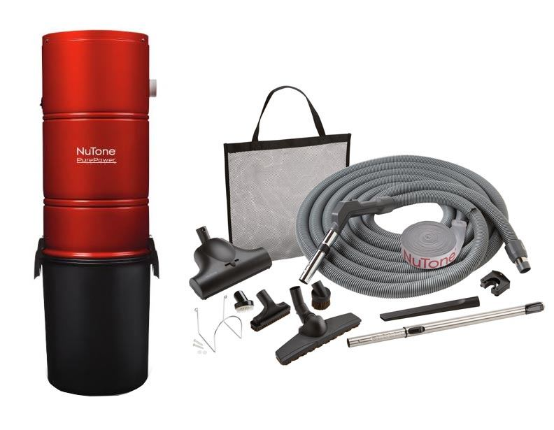 NuTone PP600 Central Vacuum Pet Care Package