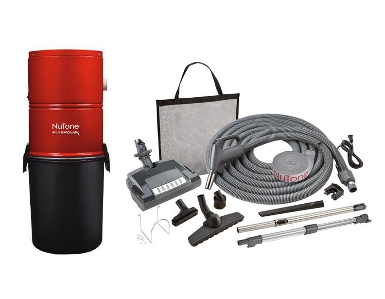 NuTone PP500 Central Vacuum Deluxe Package Pig Tail
