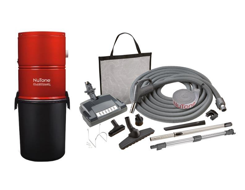 NuTone PP500 Central Vacuum Deluxe Package Direct Connect