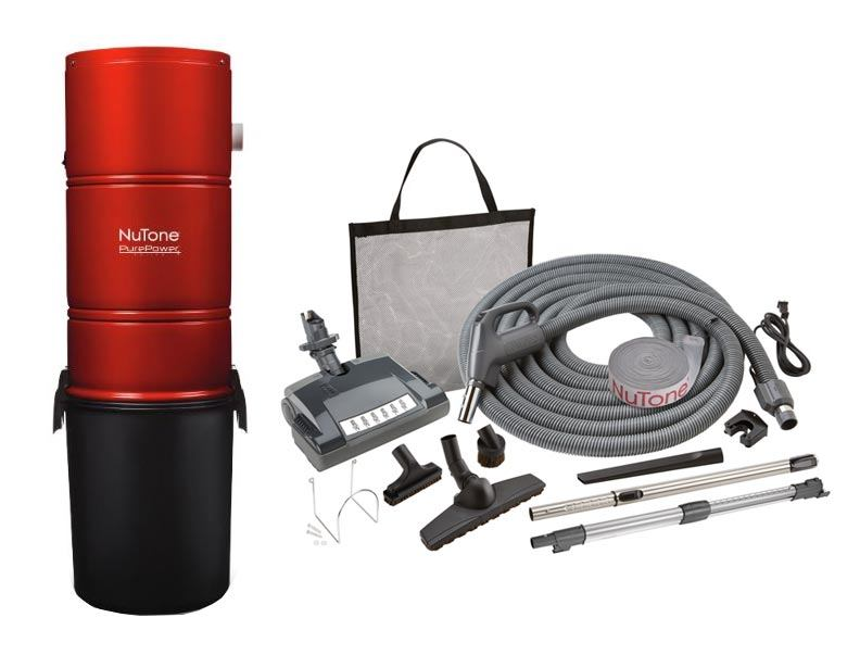 NuTone PP600 Central Vacuum Deluxe Package Pig Tail