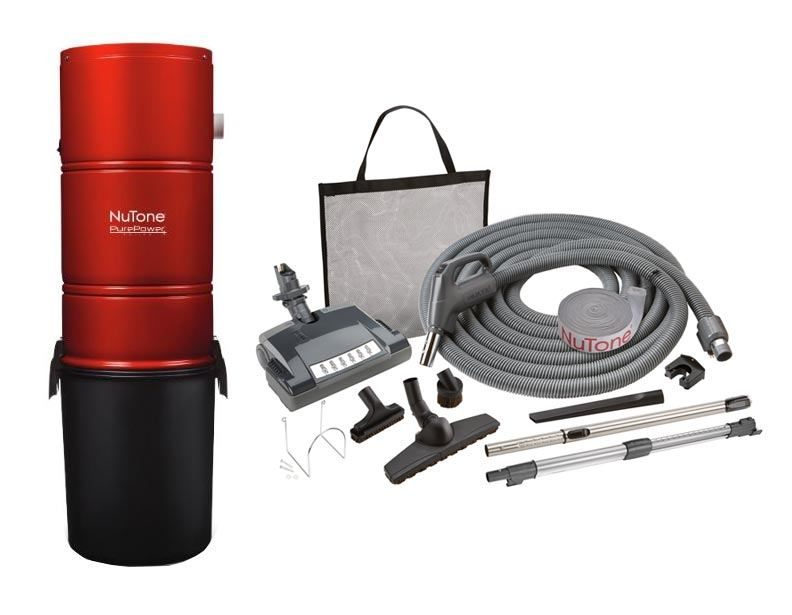 NuTone PP600 Central Vacuum Deluxe Package Direct Connect