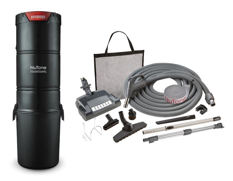 NuTone PP650 Central Vacuum Deluxe Package Direct Connect