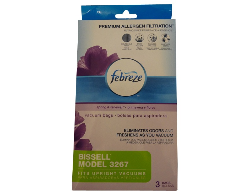 Bissell Velocity Anti-Allergy Bags 3 Pack