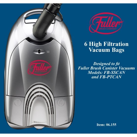 Fuller Brush 6-Pack Micro Filtration Vacuum Bags for Full-Size Canisters