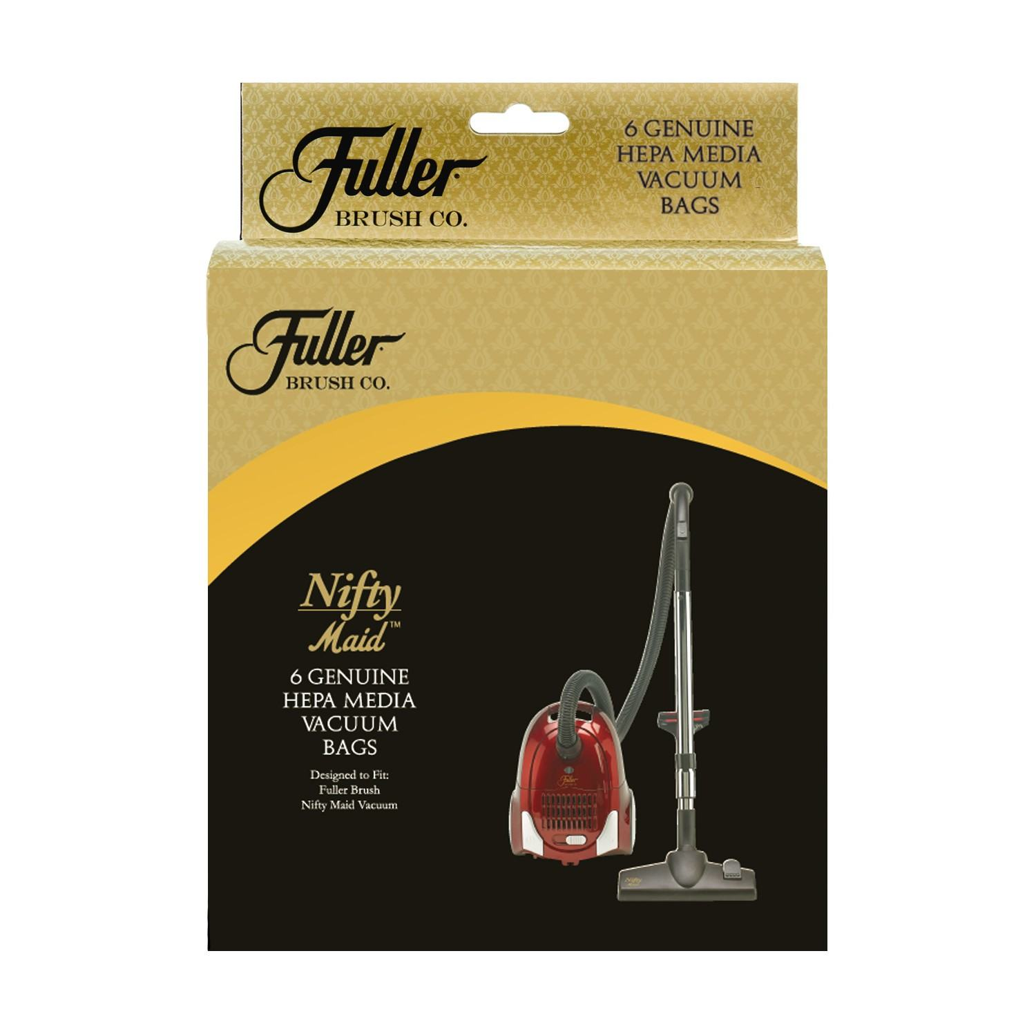 Fuller Brush Nifty Maid HEPA Media Bags