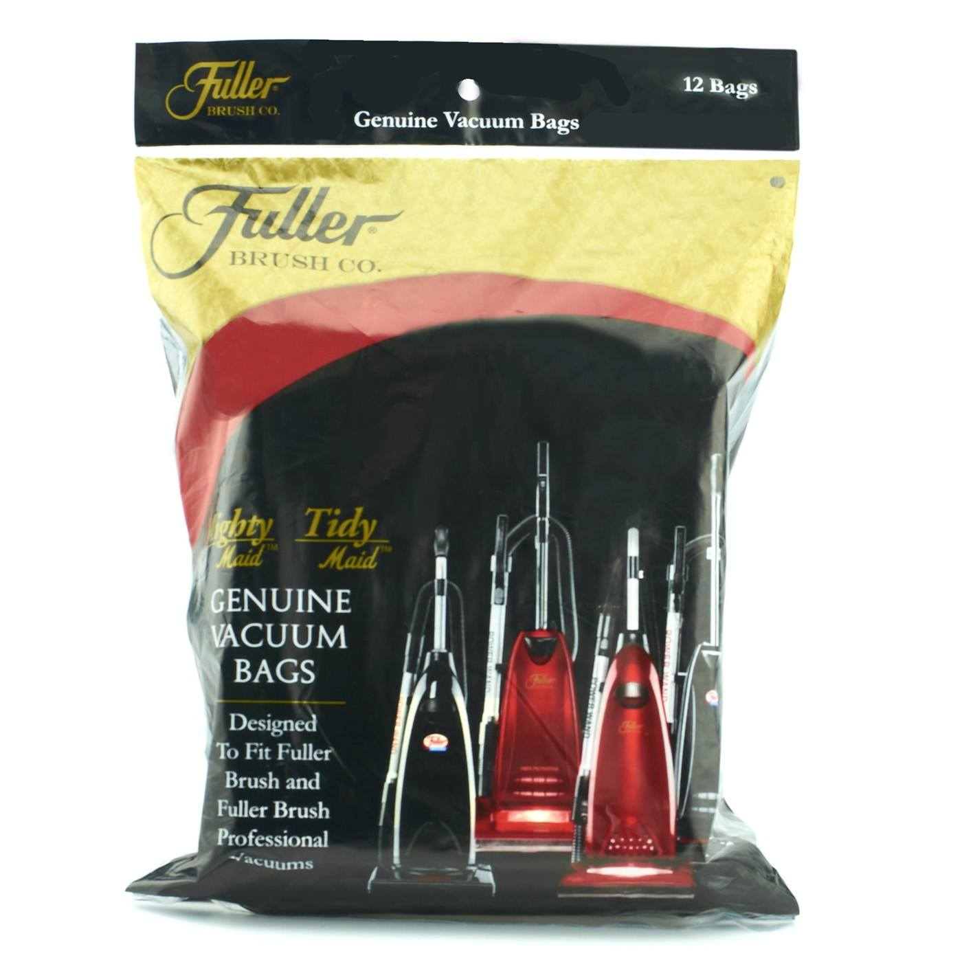Fuller Brush Paper Vacuum Bags for Uprights