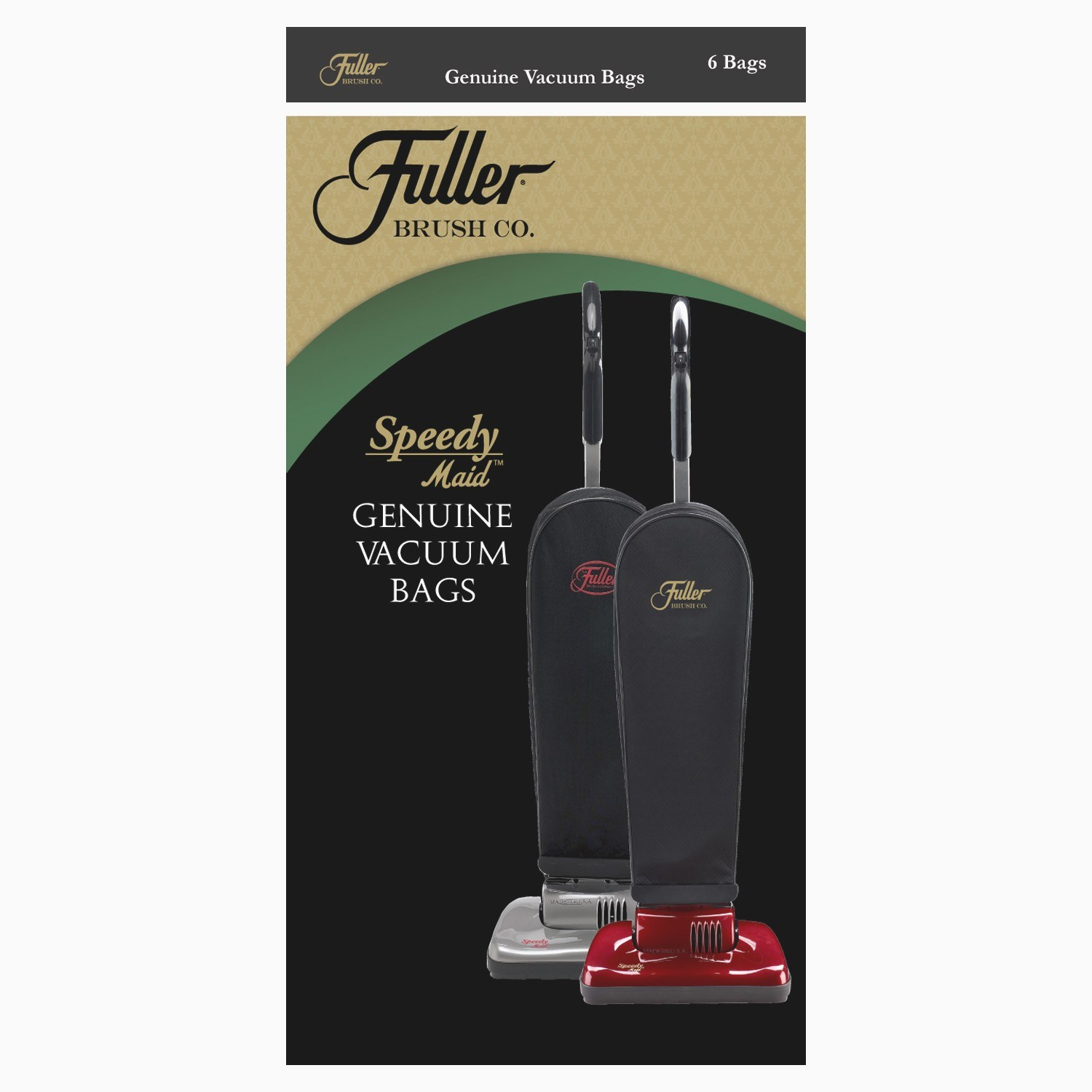 Fuller Brush Paper Vacuum Bags for Speedy Maid