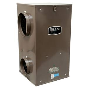 Beam Model 350 HEPA Central Air Filtration System
