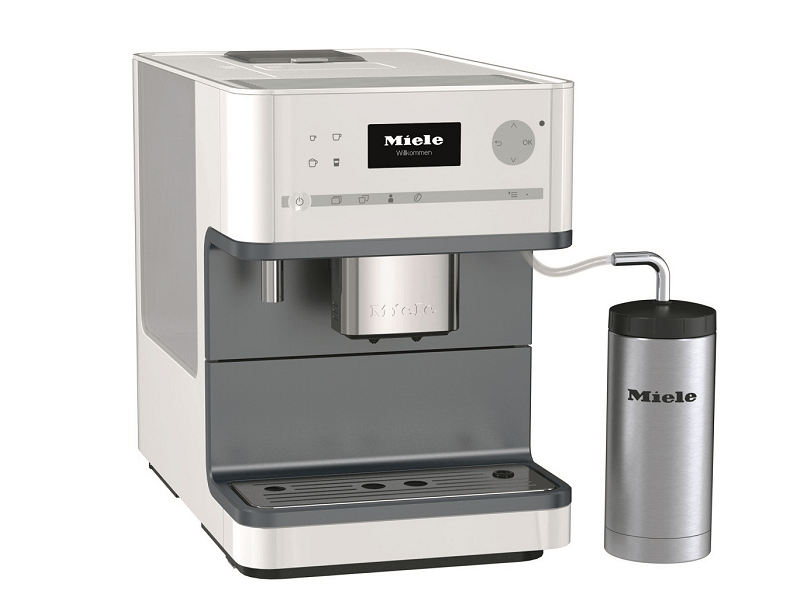 Miele CM6350 Countertop Coffee System (White)