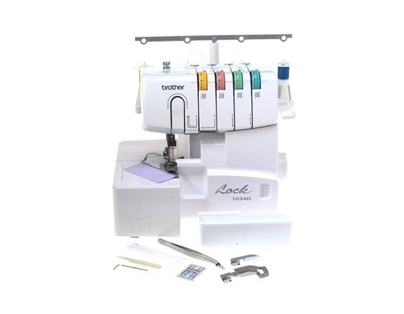 Brother 1034D 3/4 Thread Serger with Differential Feed