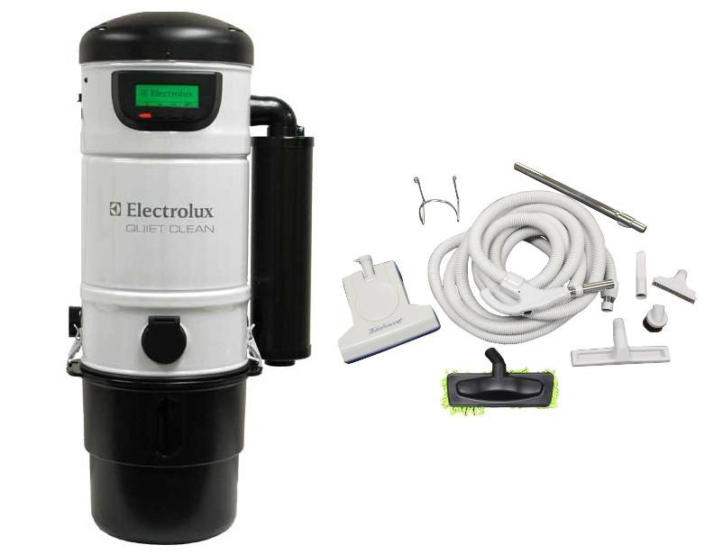 Electrolux PU3650 Central Vacuum & 30ft Turbo Cat Kit