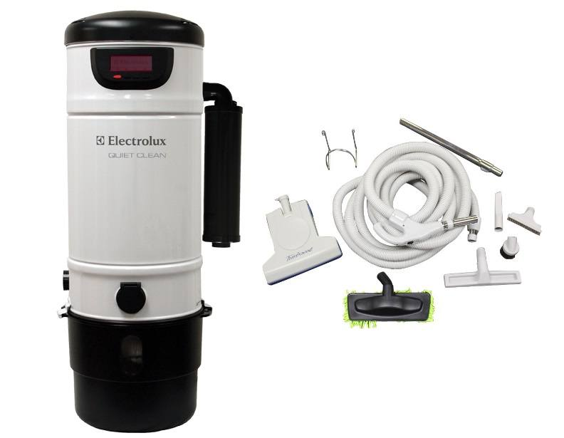 Electrolux PU3900 Central Vacuum & 30ft Turbo Cat Kit