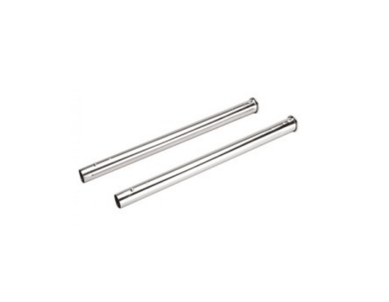 NuTone Button Lock Wands w/ Plated Chrome Finish