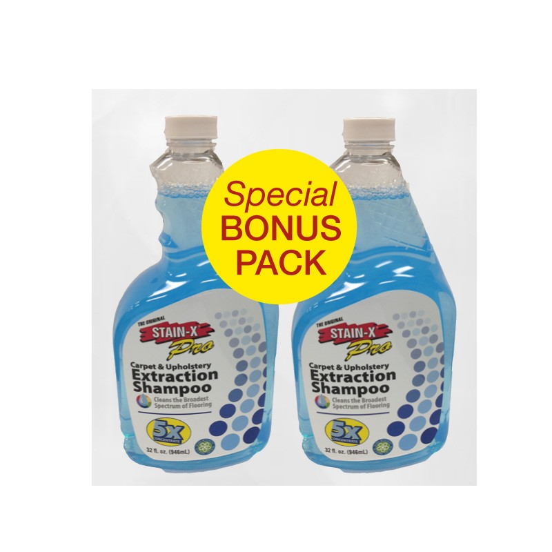 Stain-X Stain Extractor Shampoo (2 Pack)