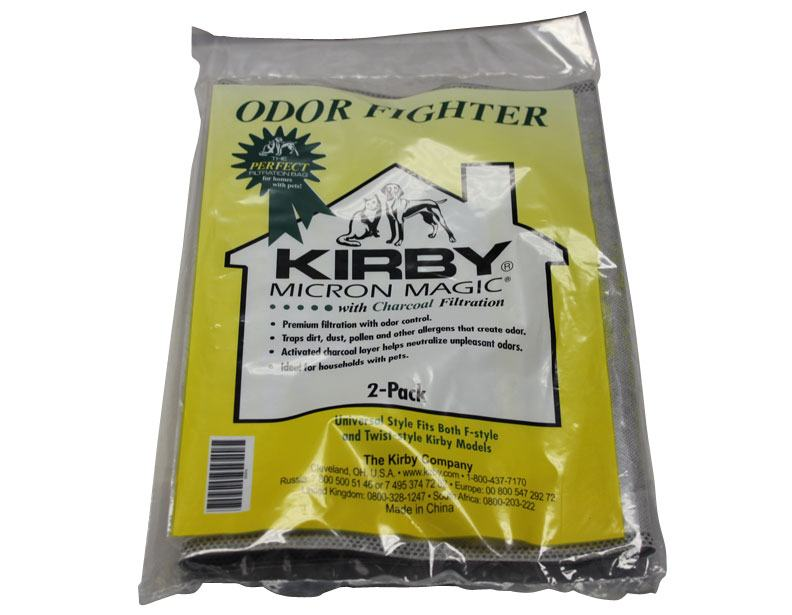 Kirby Anti-Odor Vacuum Bags - 2 Pack