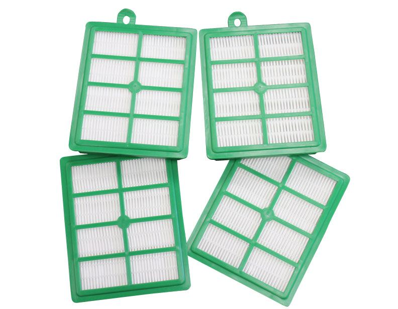 Electrolux Generic H12 Green HEPA Filter - 4 Pack