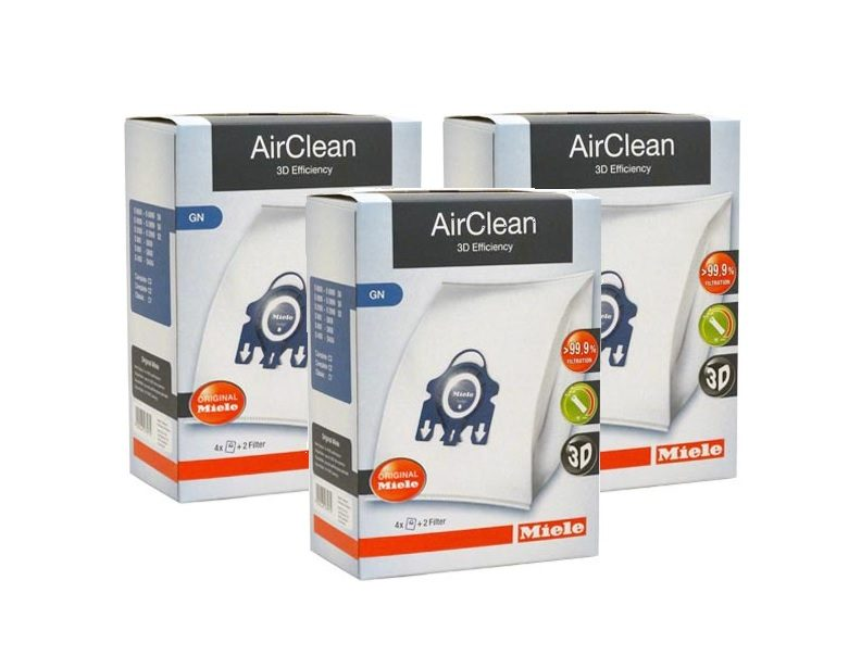 Miele AirClean Filter Bags Type GN - 12 Pack