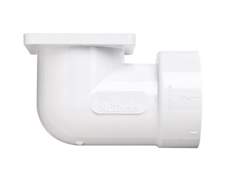 NuTone CF363 90-degree Flanged Elbow
