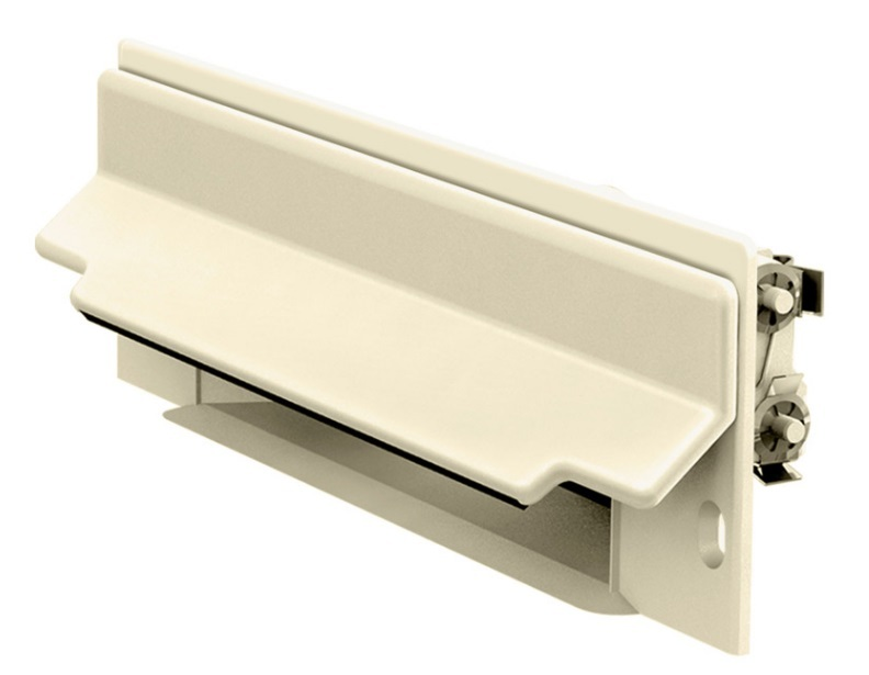 Central Vacuum CanSweep Baseboard Inlet Almond Ivory