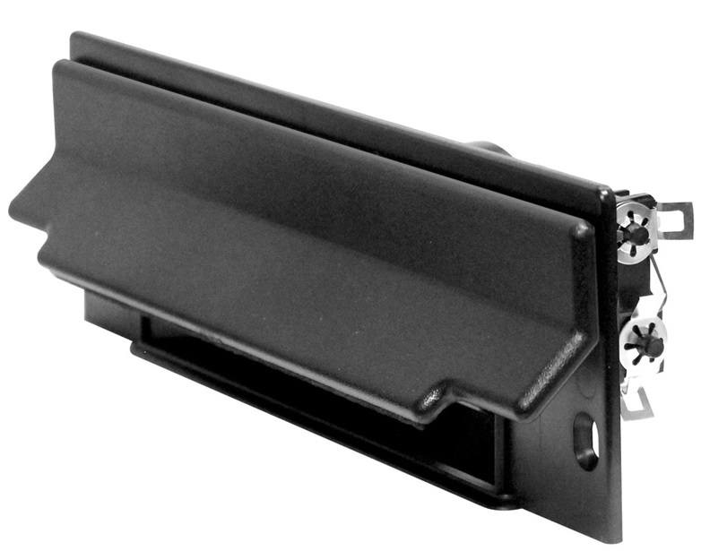 Central Vacuum CanSweep Baseboard Inlet Black