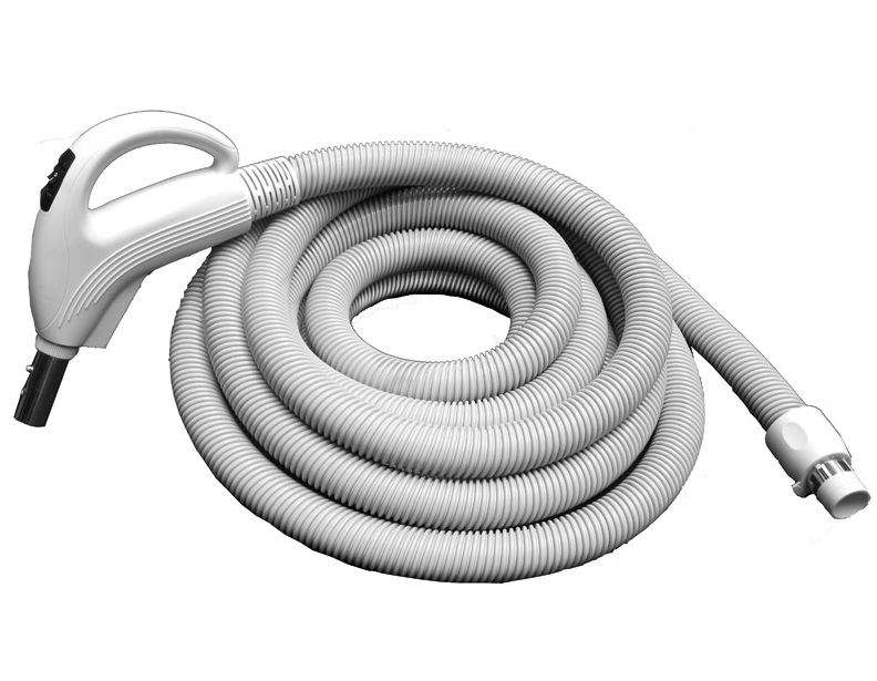 Central Vacuum 30 Ft ValueFlex Low Voltage Hose