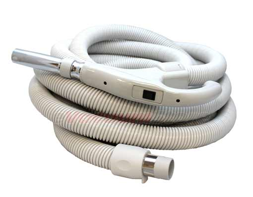 Electrolux Generic 40FT Standard Crushproof Central Vacuum Hose - With On/Off Switch