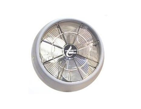 J.E. Adams Aqua Breeze 6670A16W Wall Mounted Fan with Mist Ring