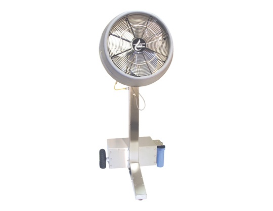 J.E. Adams Aqua Breeze 6700D Mobile II Portable Misting Fan