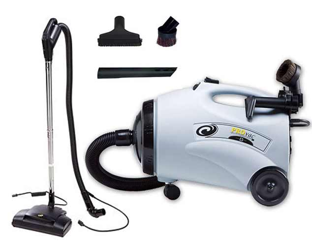 ProTeam ProVac CN Canister Vacuum and Power Nozzle