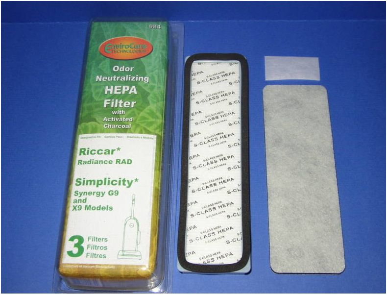 Riccar Radiance / Simplicity G9/X9 Hepa Filter