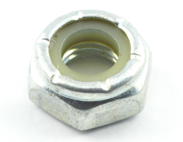 Simplicity A375-0100 1/4-28 Locking Hex Nut