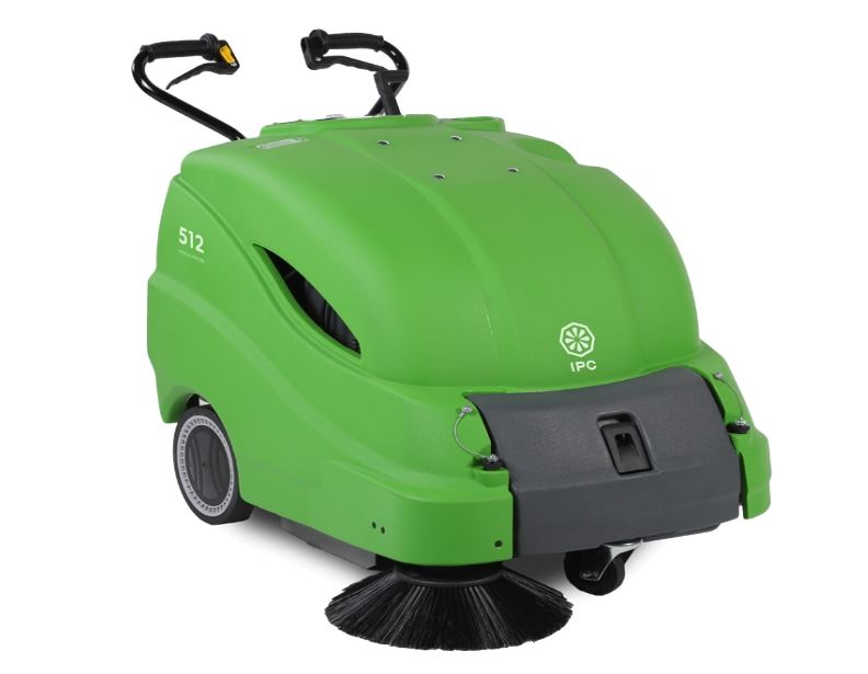 IPC Eagle 512 Walk Behind Vacuum Sweeper