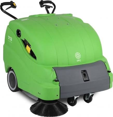 IPC Eagle 712 Walk Behind Vacuum Sweeper