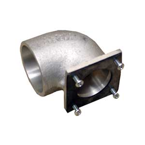 2 Inch 90° Elbow Adapter w/Gasket
