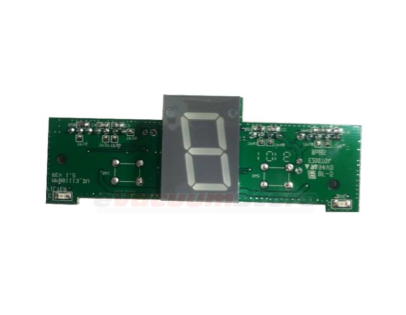 Electrolux Ultra Silencer Vacuum EL7060A PCB Display